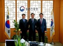 [상주]이병환 군수, 구교강 군의회 의장, 농촌진흥청 방문